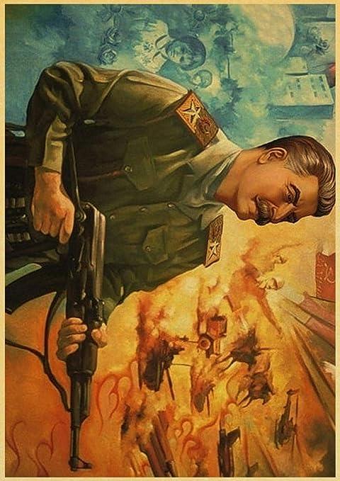 ndegdgswg El camarada Ruso Joseph Stalin Cartel de la Pared ...
