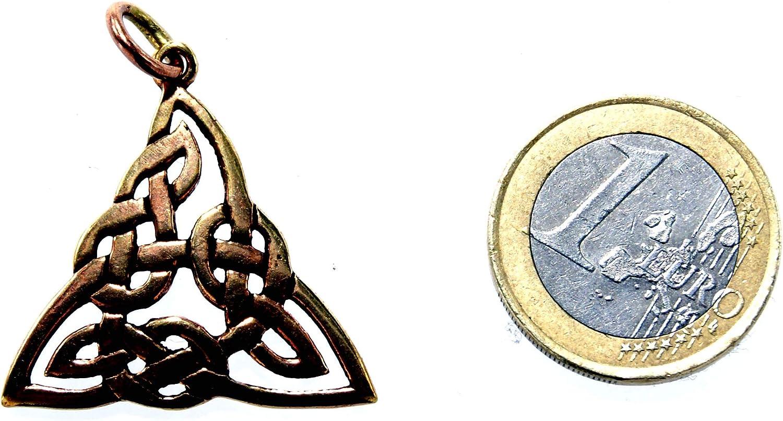 Ciondolo a Forma di Nodo Celtico in Bronzo Kiss of Leather 79