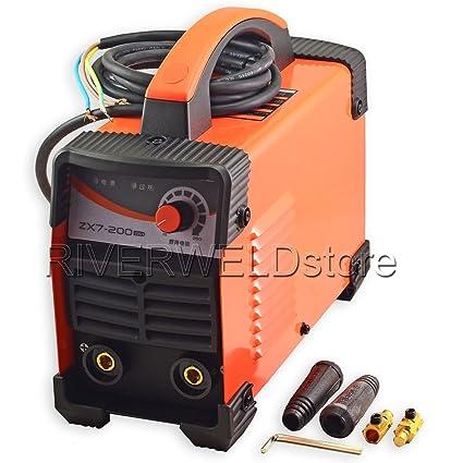 IGBT ZX7?200 DC Inverter MMA arco máquina manual soldador