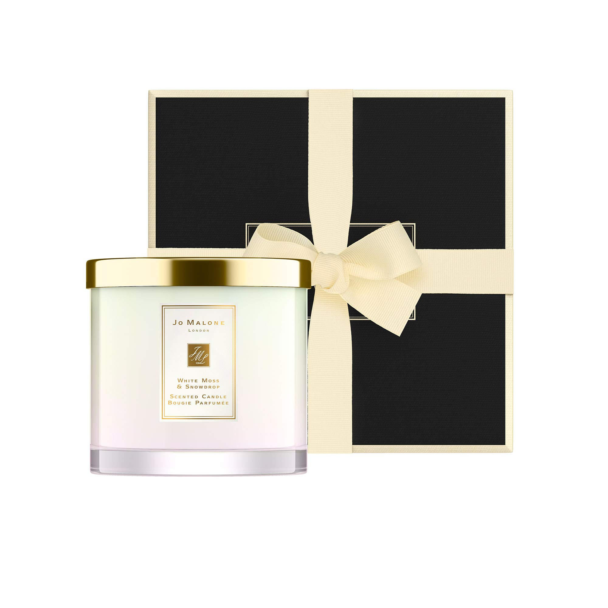 JO MALONE LONDON WHITE MOSS & SNOWDROP DELUXE CANDLE 600G LIMITED EDITION