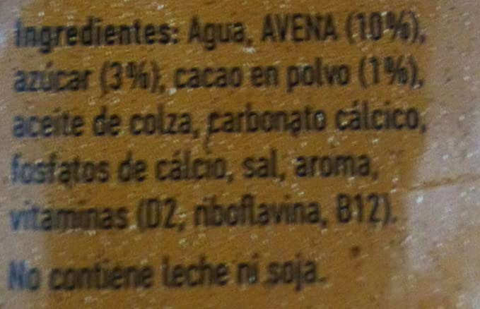 Oatly Bebida Avena con Chocolate - 250 ml: Amazon.es ...