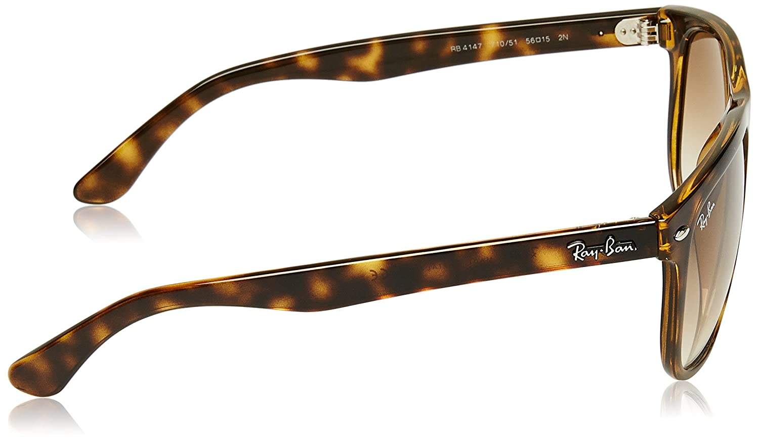 ea17884a94 Amazon.com  Ray-Ban RB4147 - Light Havana Frame Crystal Brown Gradient  Lenses 56mm Non-Polarized  Ray-Ban  Clothing