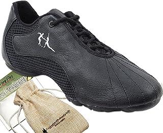 MGM-Joymod Womens Classic Mid Heel Lace-up Tango Social Practice Ballroom Latin Modern Dance Shoes