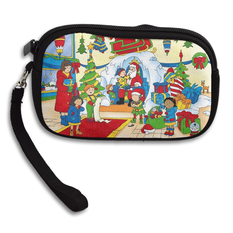 Caillou Christmas Purse Wristlet Bag