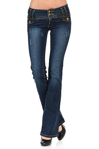 VIRGIN ONLY Women's Slim Bootcut Jeans
