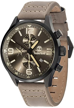 Timberland Rutherford Mens Analog Quartz Watch with Leather Bracelet 15266JSB-79