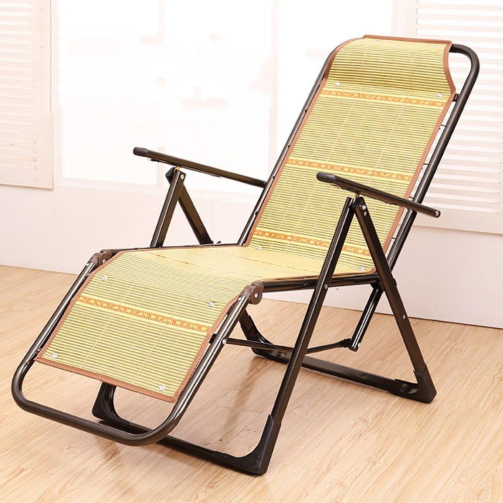 Schwangere Frau Mittagspause Stuhl Klappliege Stuhl Büro Freizeit Stuhl Im Freien Strandstuhl Bambus Rattan Schlummern Kühlen Stuhl