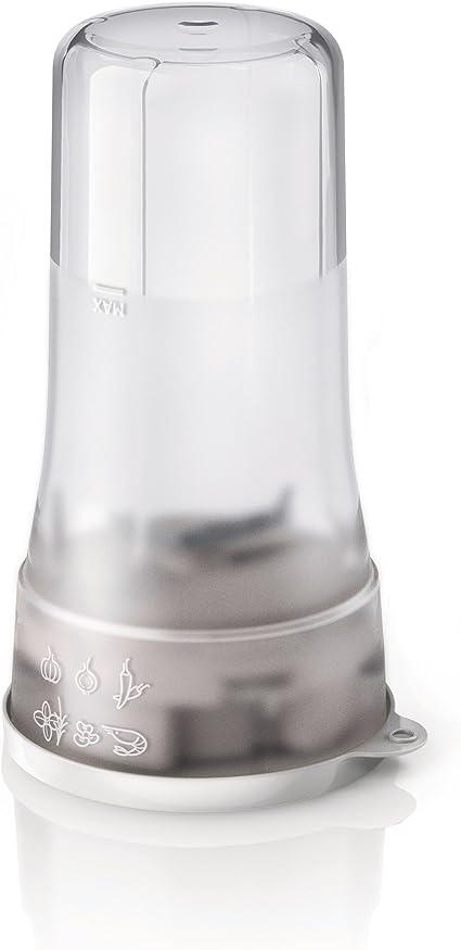 Philips Daily HR2874/00 - Batidora Americana de Vaso, 350 W, Jarra 0.6 L, Plástico Ultra Resistente, Picador, Vaso On the go, Color Gris: Amazon.es: Hogar