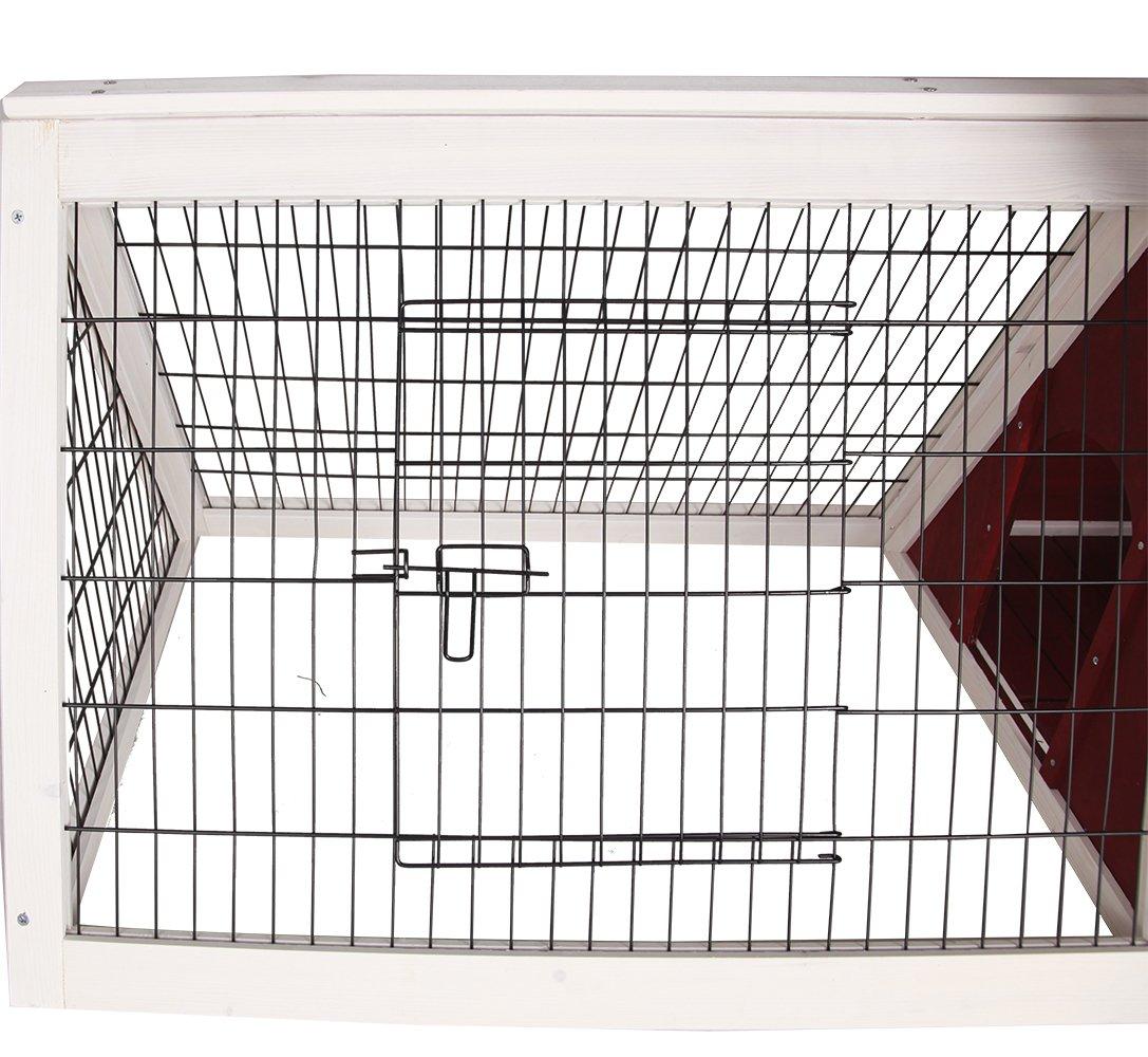 Petsfit Dreieck Kaninchenstall, Kaninchen Käfig, Gute Belüftung ...