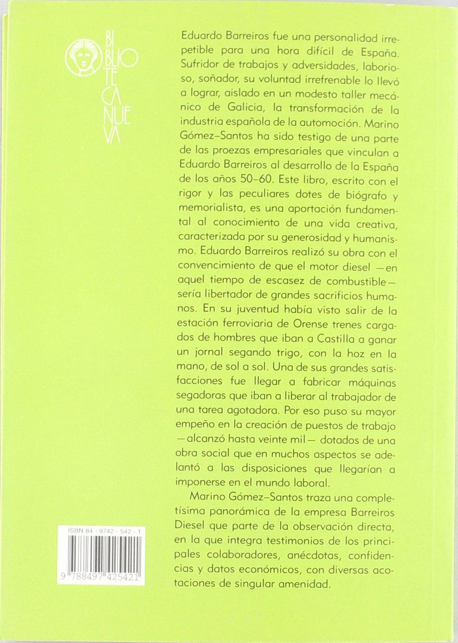 Eduardo Barreiros, De La España De Franco A La Cuba De Fidel VARIOS FUERA DE COLECCION: Amazon.es: Gómez Santos, Marino: Libros