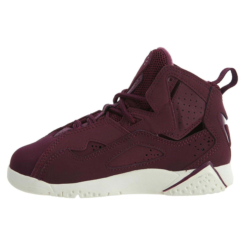 sale retailer 9ef3a 2cac2 Amazon.com   Jordan Nike Boy s True Flight Basketball Shoe (PS), Bordeaux  Bordeaux-Sail 1Y   Basketball