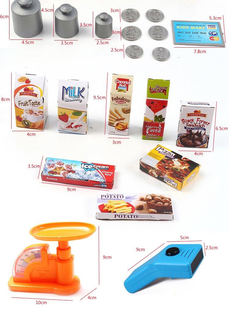 dc94169767519f Amazon   レジ付 お店屋さんごっこセット My Supermarket   お店屋さん   おもちゃ