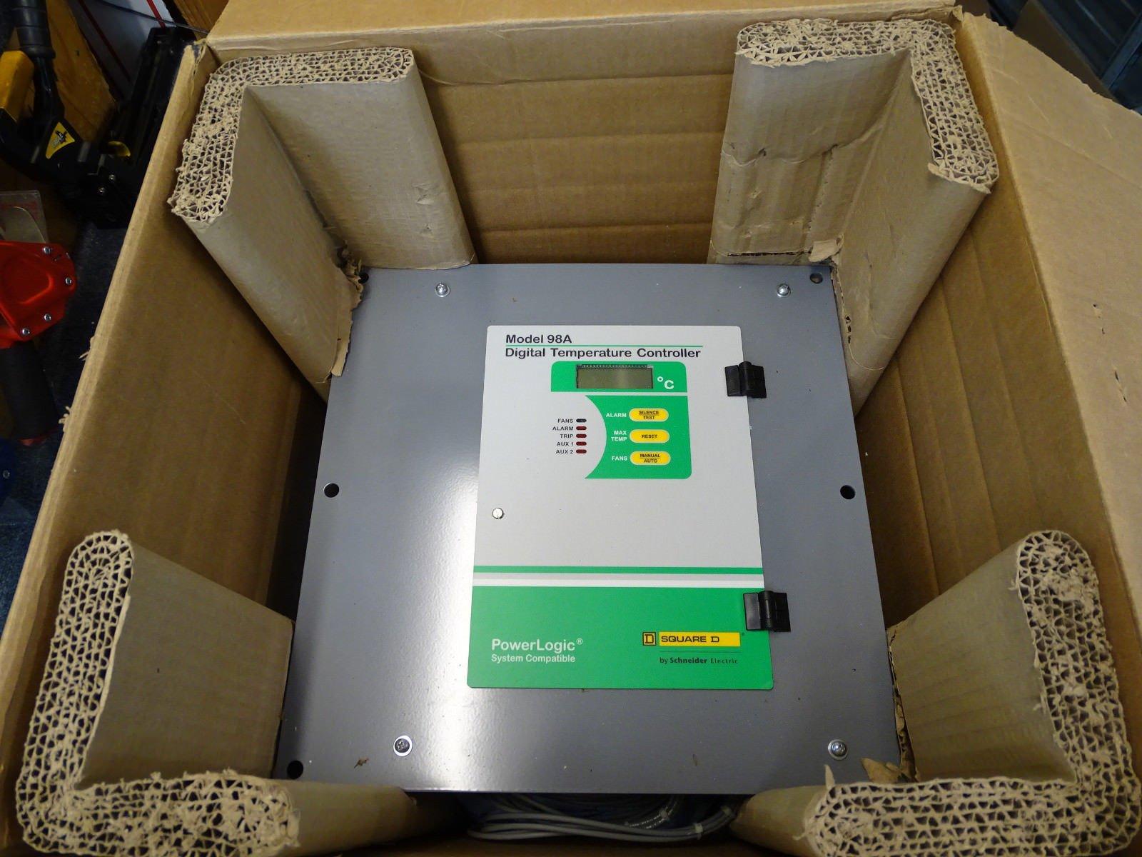 Square D Powerlogic Model 98A Digital Temperature Controller BRAND NEW