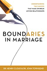 Boundaries in Marriage Kindle Edition