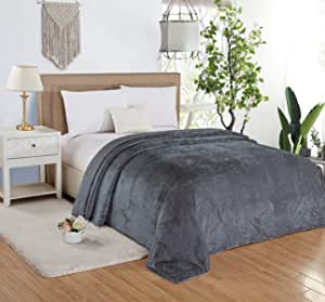 Soft Flannel Bed Blanket, King Size 200x220 cm