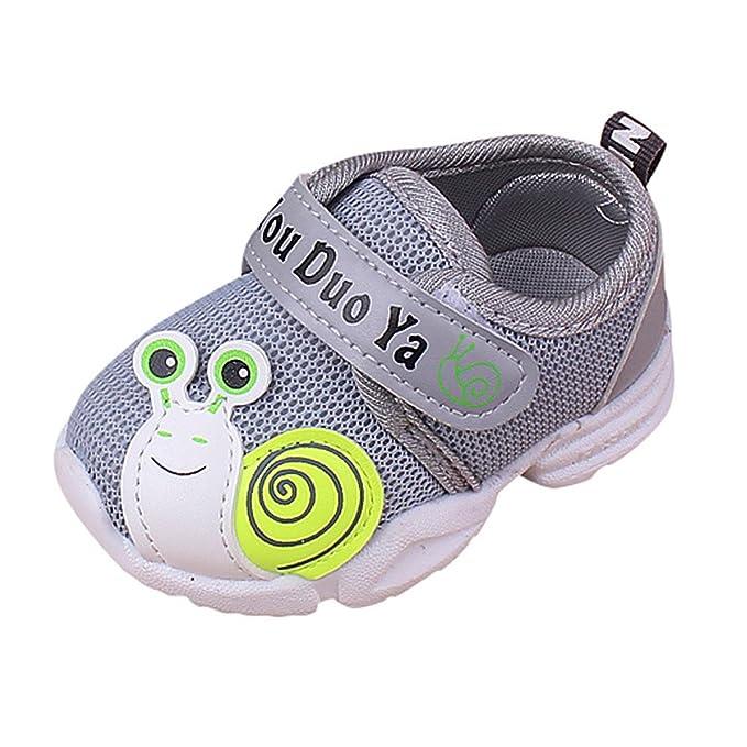 dca6428c4 YanHoo Zapatos para niños Malla Infantil para niños Calzado Deportivo para niños  Zapatos para Correr para niños Chicos Chicas Malla Suela Blanda Zapatillas  ...