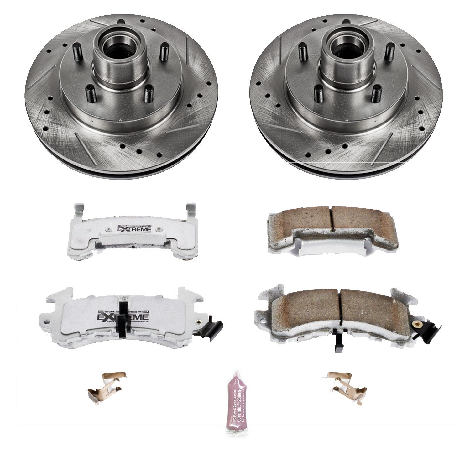 Power Stop K1482-26 1-Click Street Warrior Z26 Brake Kit