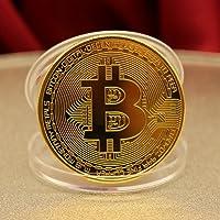 Singhi Pièce de Bitcoin Collectible BTC Coin Commemorative Collection Physique