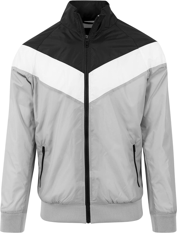 Urban Classics Arrow Zip Jacket Chaqueta para Hombre
