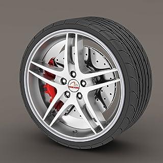 DUBAI 1 Jante en alliage ECE 8 18 5X110 40 65,1 Alfa Romeo Giulietta Julia anthracite mat diamant/é