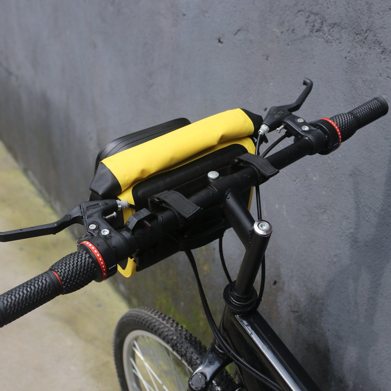 Tourbon Bolsa impermeable para manillar de bicicleta, parte ...