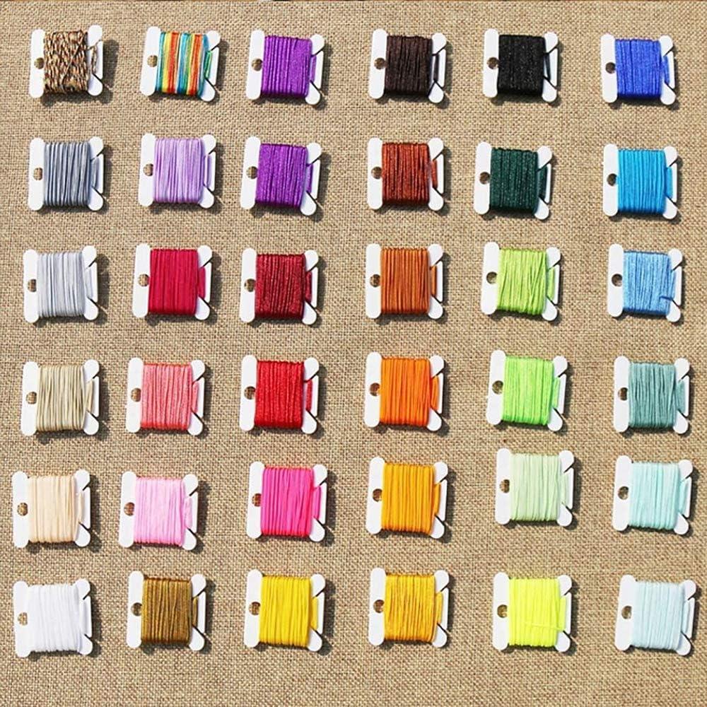 240 Pezzi Xinlie Bobine di Filo da Ricamo Organizzatore Bianco Bobine di Filo da Ricamo Plastica Bobine di Filo da Ricamo per Punto Croce Cucito Needlecraft Supplies Conservazione Portaoggetti,Bianco