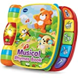 VTech Musical Rhymes Book Music book has 40+ Songs Toys, 6 Months to 3 Years