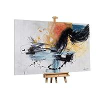 KunstLoft Stravagante Dipinto ad Olio Vivace Fantasia' in 180x120m | Tele Originali manufatte XXL Design | Decorazione Astratti colorato | Quadro da Parete in Olio Arte Moderna murale
