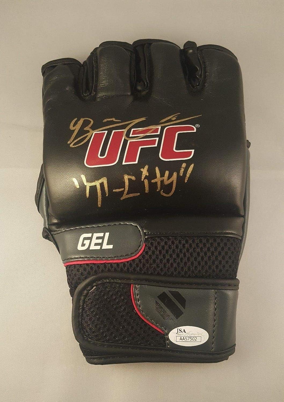 Brian Ortega Autographed Signed MMA UFC Champion Practice Glove JSA