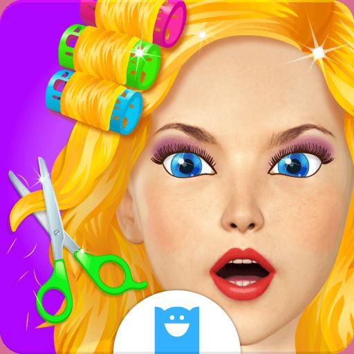 Hair Makeover - Salon Games for - Model Cut Face