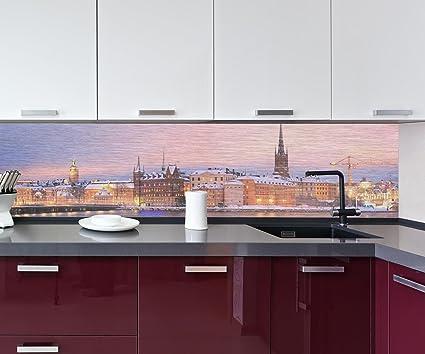 Cocina Pared Trasera Stockholm Panorama Design M0933 260 x 60 cm (W x H)