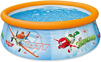 Intex 56207 - Piscina Easy Set con diseño de Planes, 183 x 51 cm ...