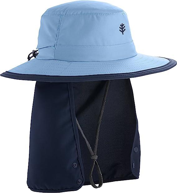 9b5c092a9 Amazon.com: Coolibar UPF 50+ Kids' Convertible Boating Hat - Sun ...