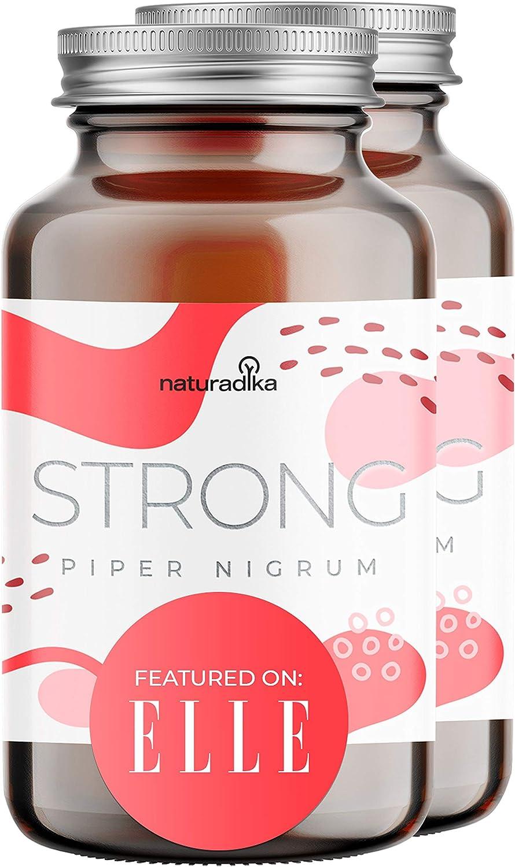 PIPERNIGRUM QUEMA-STRONG POTENTE   Apoyo para un plan FIT&SHAPE RAPIDO y EFECTIVO   Con CAPSIMAX (rico en ácidos grasas, no quema el estómago)   ...