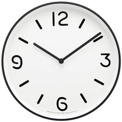 uk availability 00114 e1b32 Amazon|Lemnos MONO Clock ホワイト LC10-20A WH|置き時計 ...