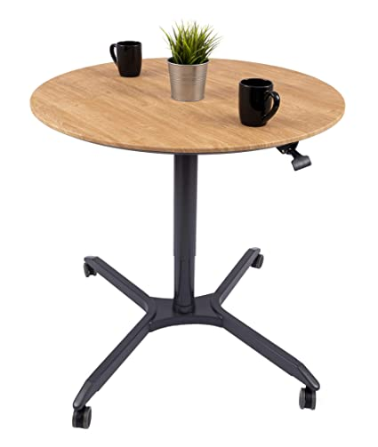 Amazon.com: Pneumatic Adjustable-Height Cafe Table | Breakroom Table on furniture kitchen, small commercial kitchen, storage kitchen, tv kitchen, clean kitchen, office kitchen, technology kitchen, warehouse kitchen, coffee kitchen, tables kitchen, cafeteria kitchen, kitchen kitchen, dorm room kitchen, home kitchen, lighting kitchen, classroom kitchen, executive break rooms kitchen,