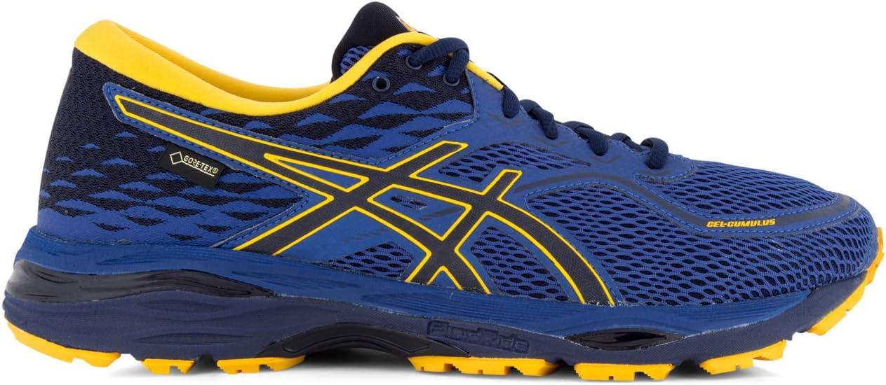 ASICS Hombre – Zapatillas de Running Gel Cumulus 19 GTX, Nachtblau (301), 46,5: Amazon.es: Deportes y aire libre