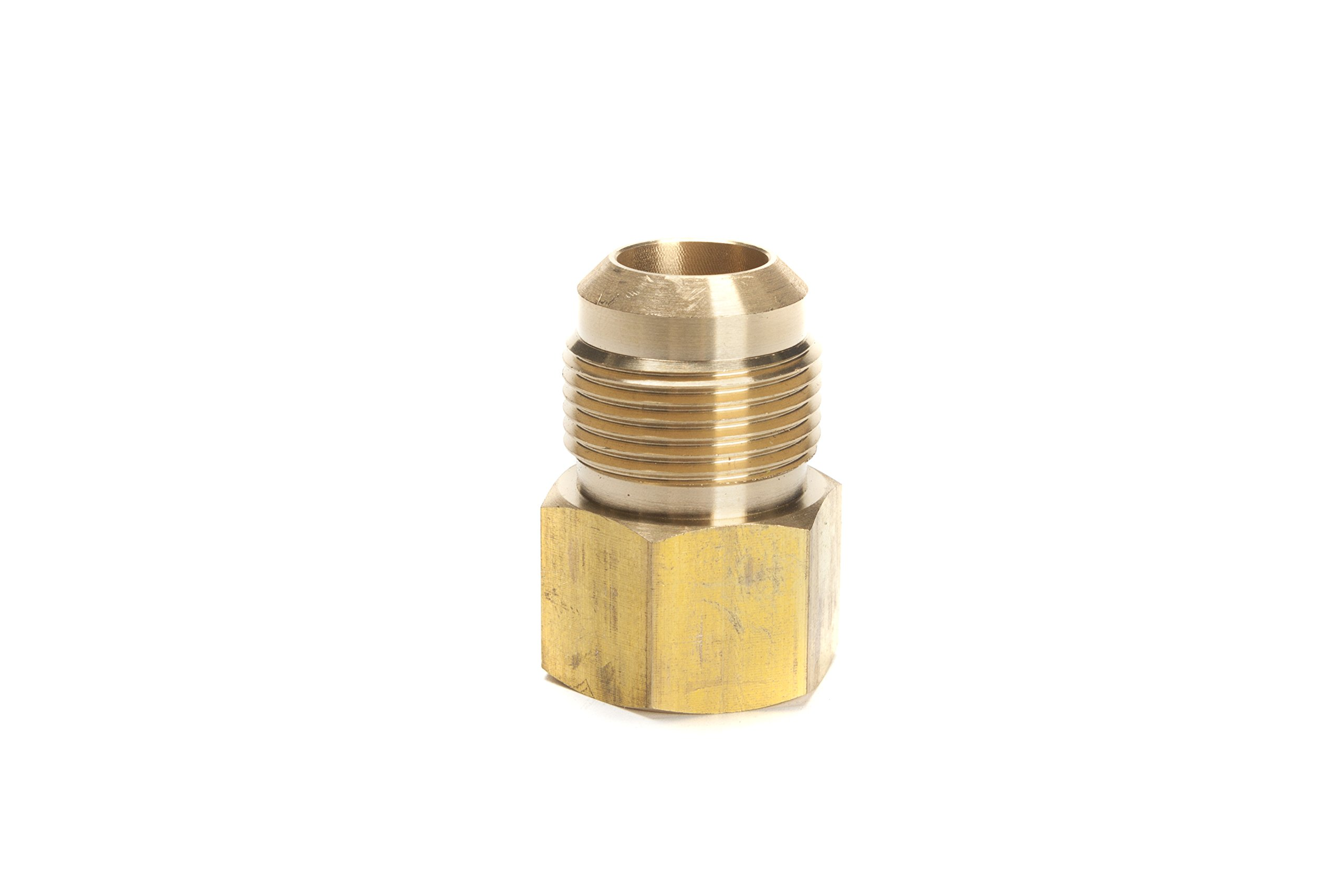 LTWFITTING Brass Flare 3/4'' OD x 3/4'' Female NPT Connector/Adapter Tube Fitting(Pack of 5) by LTWFITTING