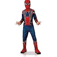 Rubies - Disfraz de Iron Spider, para niño, I-700659M, rojo, talla M 5-6 años