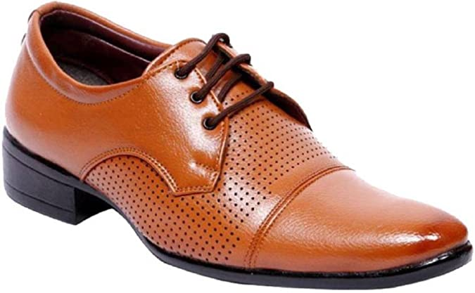 54e0f17c0d8 AXONZA Men s Synthetic Formal Shoes  Buy Online at Low Prices in India -  Amazon.in