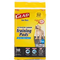 Glad for Pets Black Charcoal Puppy Pads-New & Improved Puppy Potty Training Pads That ABSORB & NEUTRALIZE Urine…