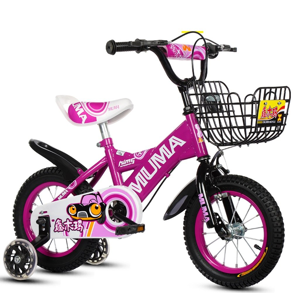 yxgh-子供の自転車2 – 4-6 Years Old 6 – 7-8 – 9 years old kid 's Bike Baby Carriage Boy Girl自転車withフラッシュトレーニングホイール B07DCHVMGV 16