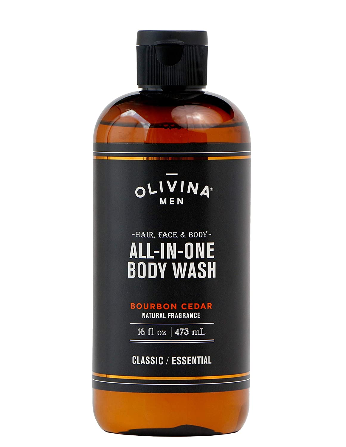 Olivina Men Hair, Face & Body All-in-One Wash