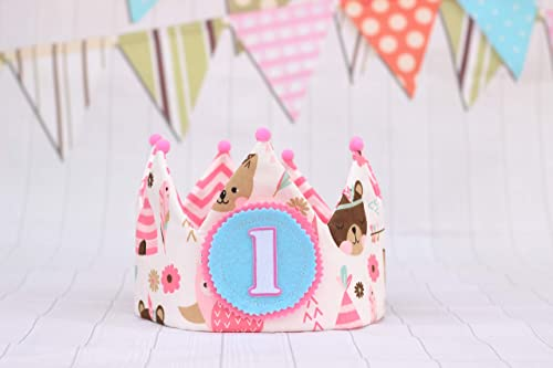 Corona princesa cumpleaños infantil, adorno para niña ...
