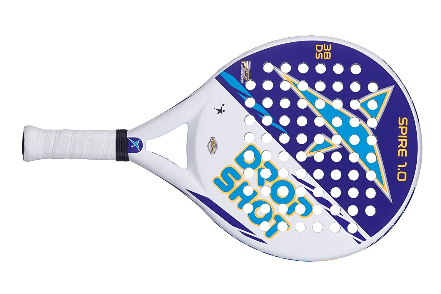 Amazon.com : Drop Shot Spire 1.0 Pop Tennis Paddle Racquet ...