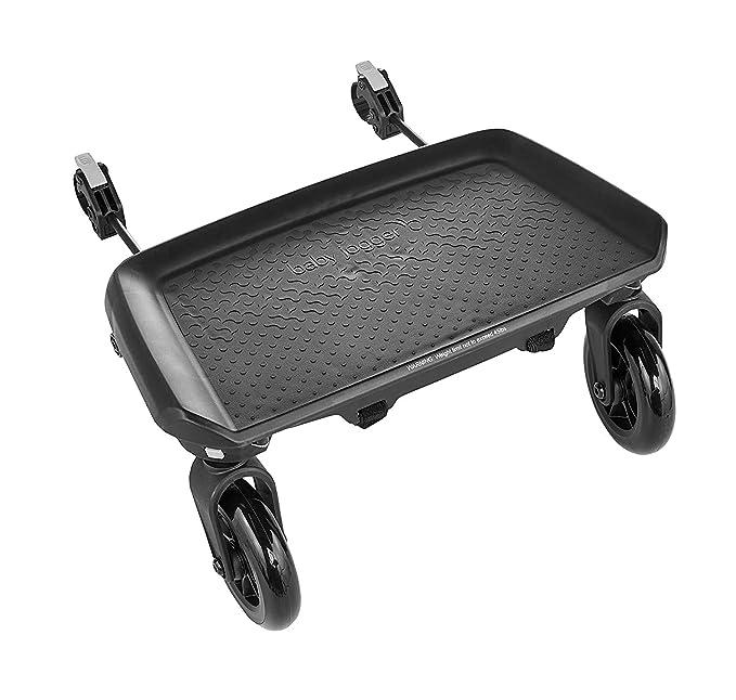 KHXJYC Mini Buggy Board avec si/ège et Sangle de Connexion si/ège Amovible et /à Assembler Poussette Universelle pour Landau de Voyage /à Planche Debout