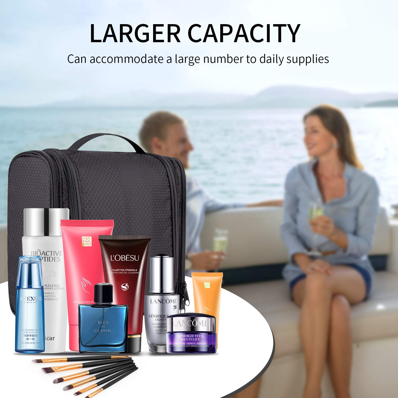 Toiletry Bag, Hanging Travel Toiletry Organizer Kit Portable Waterproof Cosmetics Bag