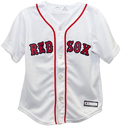 4db1274f3f38b Amazon.com : Outerstuff Boston Red Sox Home Cool Base Toddler Jersey ...