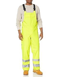 Hi Viz Yellow Helly Hansen Mens Alta Shelter High Visibility Jacket X-Large