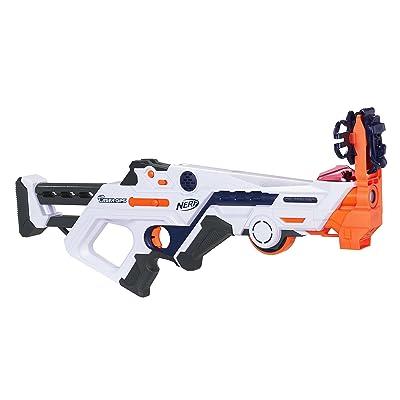 Nerf Laser Ops Burst Fire Combat Blaster: Toys & Games